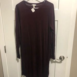 H&M Burgundy Dress with TAGS